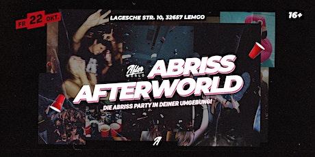 ABRISS AFTERWORLD (16+) tickets