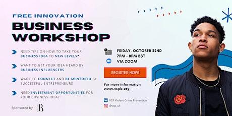 Free Innovation Business Workshop tickets
