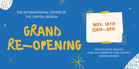 ICCR Grand Re-Opening tickets