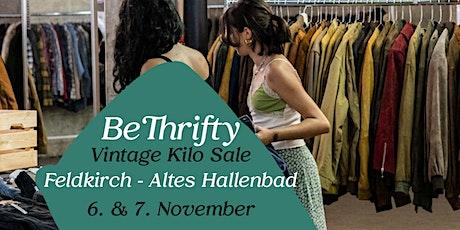 BeThrifty Vintage Kilo Sale | Feldkirch | 6. & 7. November tickets