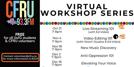 Virtual Workshop Series tickets