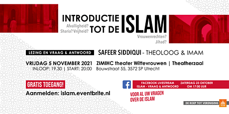 Lezing: Introductie tot de Islam tickets