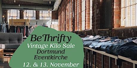 BeThrifty Vintage Kilo Sale | Dortmund | 12. & 13. November tickets