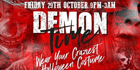 DEMON TIME - HALLOWEEN WEEKEND COSTUME PARTY tickets