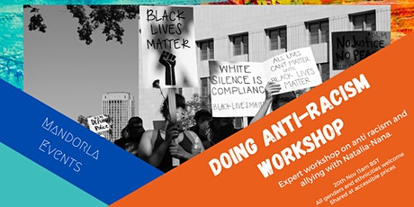 Workshop: Doing Anti-Racism and Allying (all genders welcome!) tickets