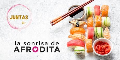 Sushi, vino & Tuppersex entradas