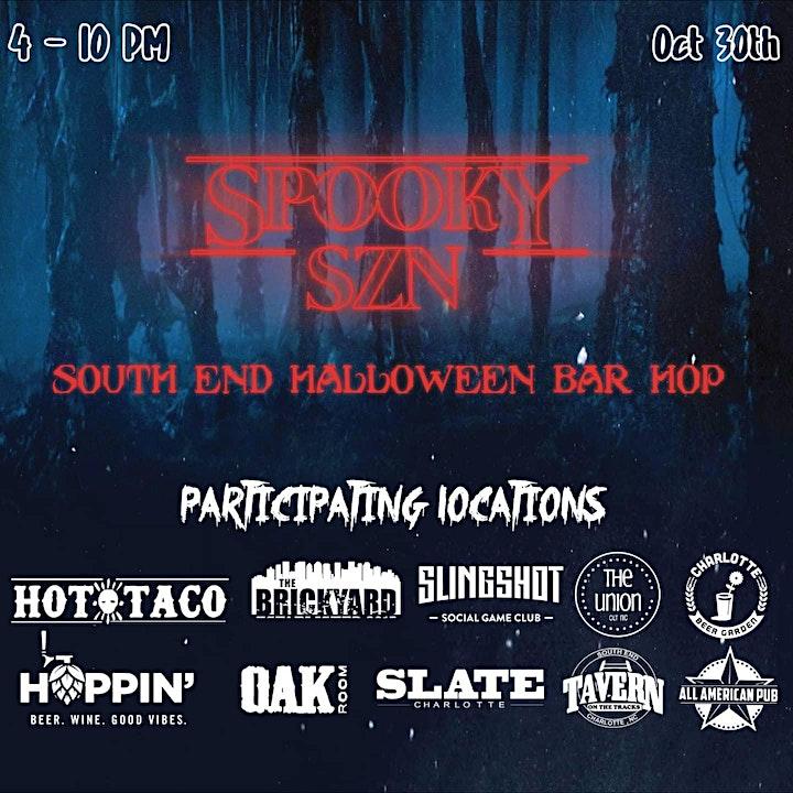 Spooky Szn | Halloween Bar Hop image