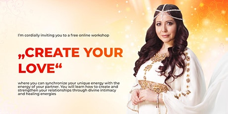 "Online workshop ""CREATE YOUR LOVE"" tickets"