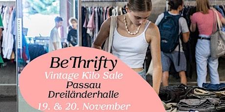 BeThrifty Vintage Kilo Sale   Passau   19. & 20. November Tickets