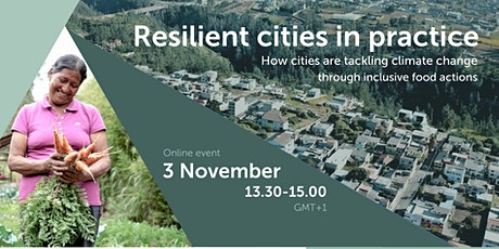 Resilient cities in practice tickets