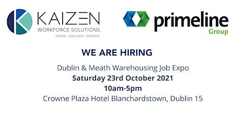 Dublin - Meath Warehouse Jobs Expo tickets