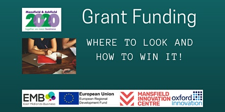 Grant Funding: Where to look and how to win it tickets