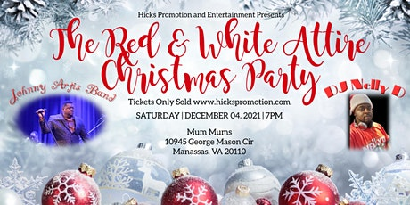 Red & White Attire Christmas Party tickets