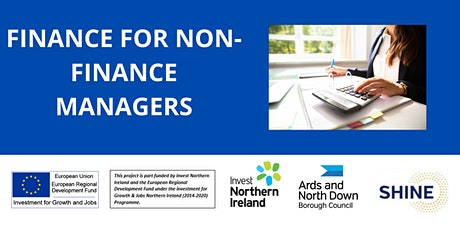 FINANCE FOR NON-FINANCE MANAGERS - Shine Programme Workshop tickets
