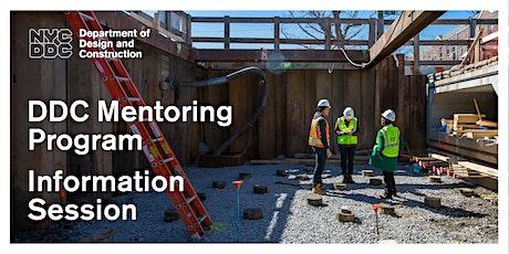 DDC Mentoring Program Information Session tickets