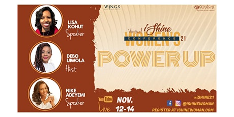 2021  iShine  Virtual Women's Conference | Power Up tickets