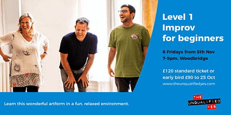 Level 1 - Improv for Beginners tickets