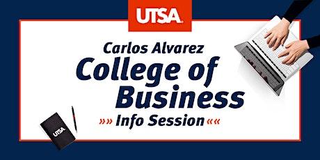Carlos Alvarez College of Business Info Session tickets