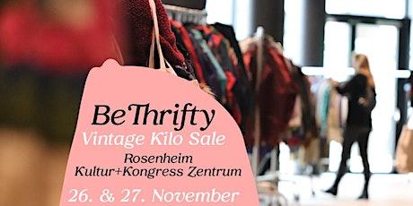 BeThrifty Vintage Kilo Sale | Rosenheim | 26. & 27. November Tickets