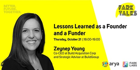 Fark Talks | Lessons Learned as a Founder and a Funder tickets