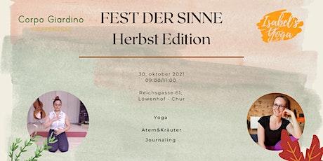 Yoga Fest der Sinne - Herbst Edition Tickets
