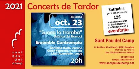 Concerts de Tardor 2021 entradas
