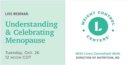 Webinar | Menopause: Understanding & Celebrating This Natural Phase of Life tickets