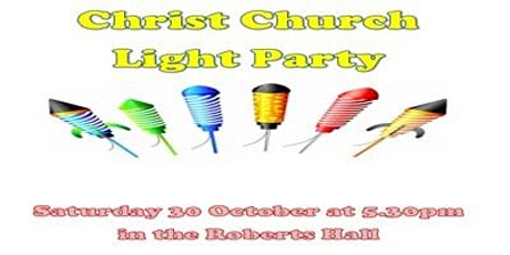 Light Party - Saturday 30th October tickets