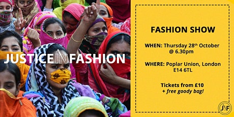 Anti-Slavery Fashion Show by Justice in Fashion tickets