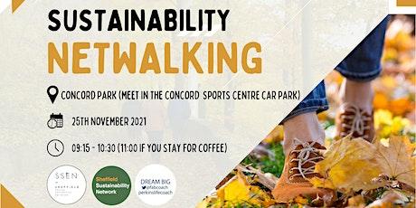Sustainability Netwalking: November tickets