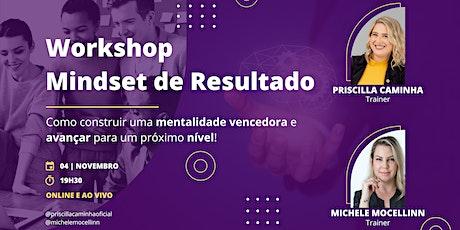 Workshop Mindset de Resultado tickets