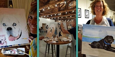 Paint (your pet) and Gin Night at PLANT CITY tickets