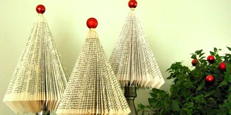 Book Page Christmas Trees tickets