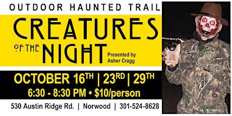 Creatures of The Night - Warrior Weekend tickets