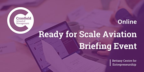 Ready for Scale Aviation Briefing Event tickets