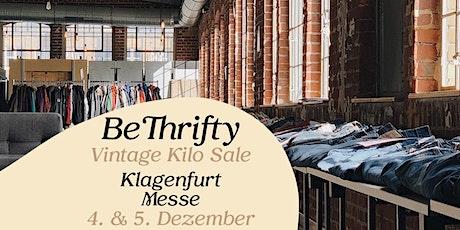 BeThrifty Vintage Pop Up Store | Klagenfurt | 4. & 5. Dezember Tickets