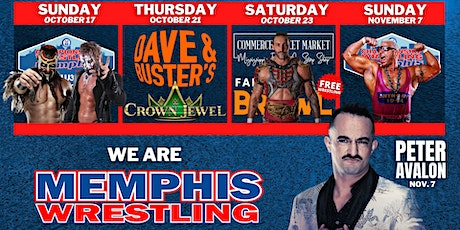 Memphis Wrestling TV Taping tickets