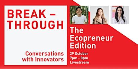 CCKPL: Breakthrough | The Ecopreneur Edition (Online) tickets