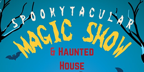 Spookytacular Magic Show for Children - Friday, October 29th at 7:15 PM tickets