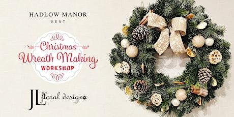 Wreath Making Workshop with J L Floral Design tickets