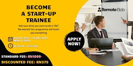 Become a Start-up Trainee billets