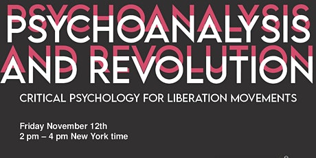 "Symposium on ""Psychoanalysis and Revolution"" by Parker & Pavón-Cuéllar tickets"