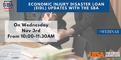 Economic Injury Disaster Loan (EIDL) Updates with the SBA tickets