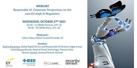Responsible AI: Corporate Perspectives on the  new EU draft AI Regulation tickets
