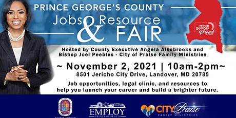 Prince George's County Jobs & Resource Fair tickets