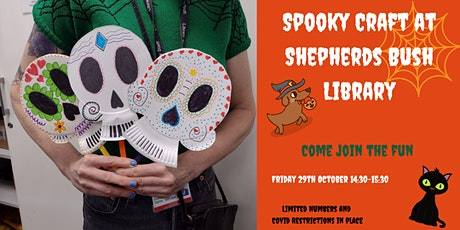 Spooky Craft at Shepherds Bush Library tickets