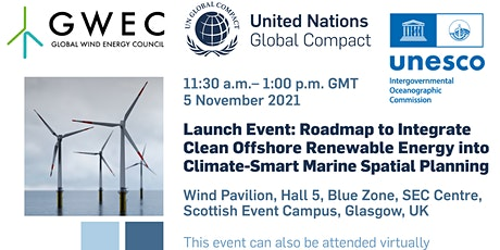 Launch Event:  Offshore Renewable Energy and Climate-Smart MSP Roadmap tickets