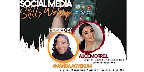 Social Media Skills Workshop tickets