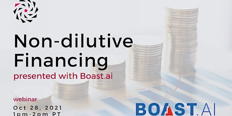 NVBC Workshop 'Non-dilutive Financing' tickets