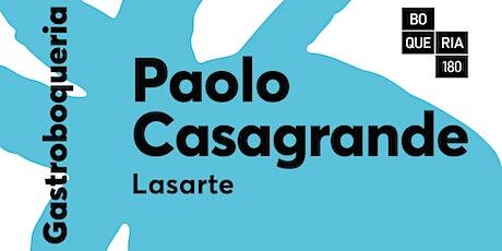 TALLER de CUINA amb el Xef PAOLO CASAGRANDE. entradas